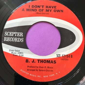 B.J Thomas-I don't have a mind of my own-Scepter E+