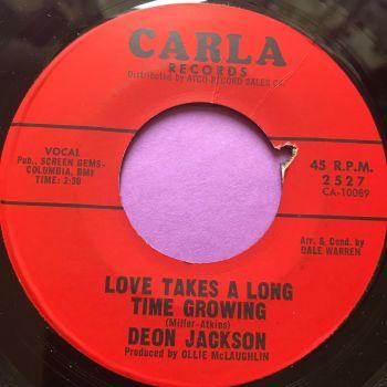 Deon Jackson-Love takes a long time growing-Carla E+