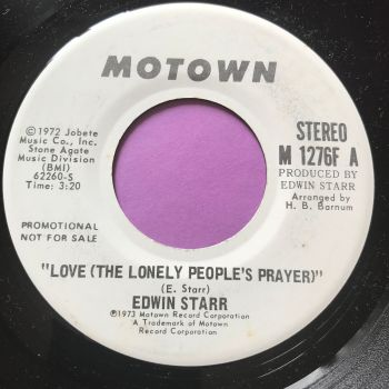 Edwin Starr-Love the lonely people's prayer-Motown WD M-