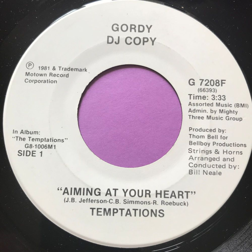 Temptations-Aiming at your heart-Gordy WD M-