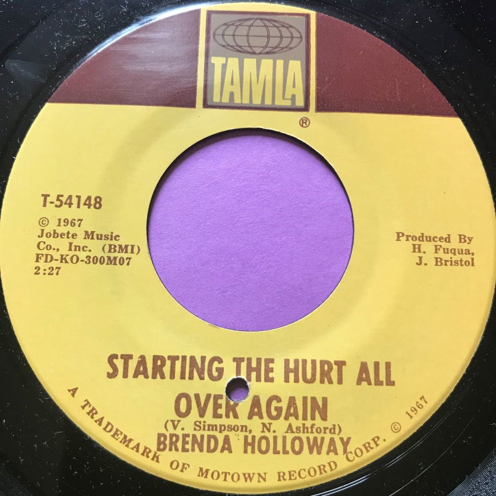 Brenda Holloway-Starting the hurt all over again-Tamla E+