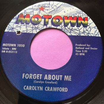 Carolyn Crawford-Forget about me-Motown E+