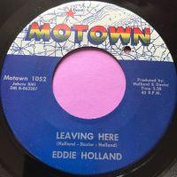 Eddie Holland-Leaving here-Motown E+