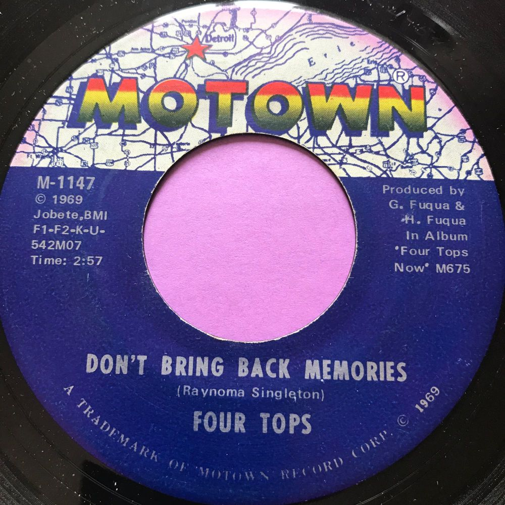 Four Tops-Don't bring back memories-Motown E+