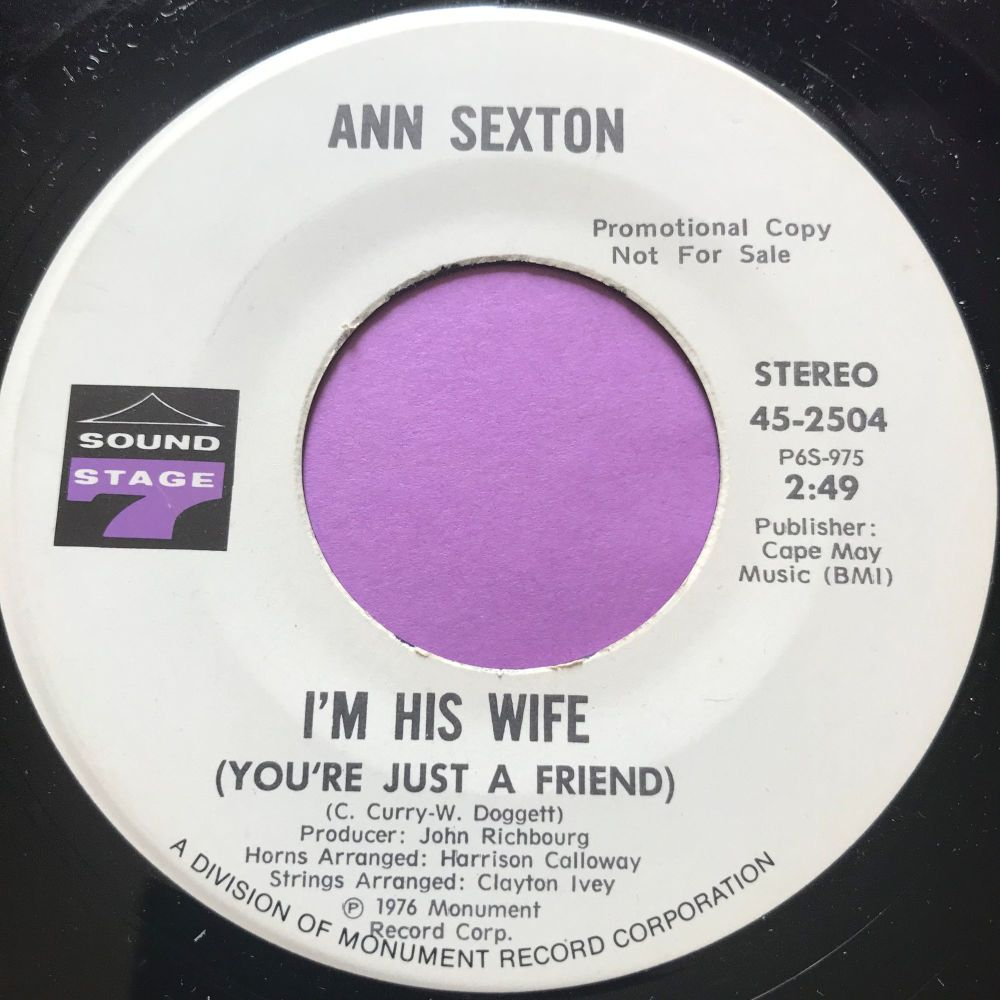 Ann Sexton-I'm his wife-Sound stage 7 WD E+