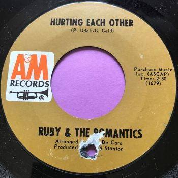 Ruby & The Romantics-Hurting each other-A&M E+