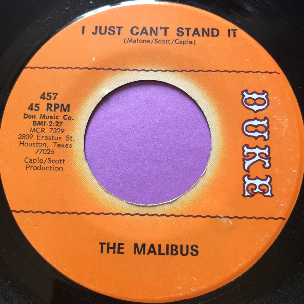 Malibus-I just can't stand it-Duke E+