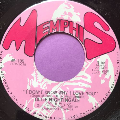 Ollie Nightingale-I don't know why I love you-Memphis E+