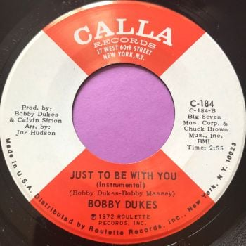 Bobby Dukes-Just to be with you-Calla M-