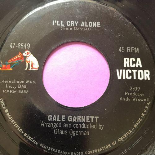 Gale Garnett-I'll cry alone-RCA E+