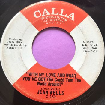 Jean Wells-With my love and what you've got-Calla E