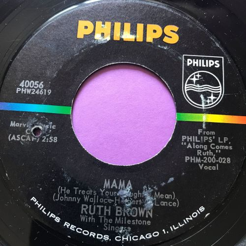 Ruth Brown-Mama He treats your daughter mean-Phillips E+