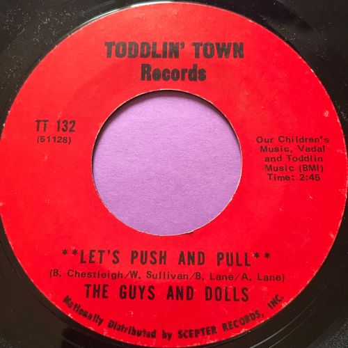 Guys and Dolls-Let's push and pull-Toddlin' Town E+