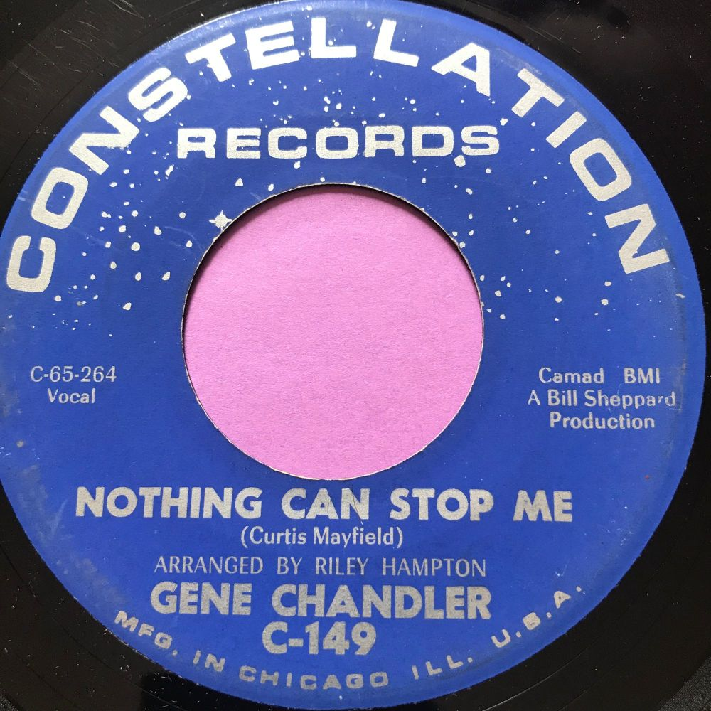 Gene Chandler-Nothing can stop me-Constellation E+