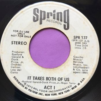 Act 1-It takes both of us-Spring WD E+