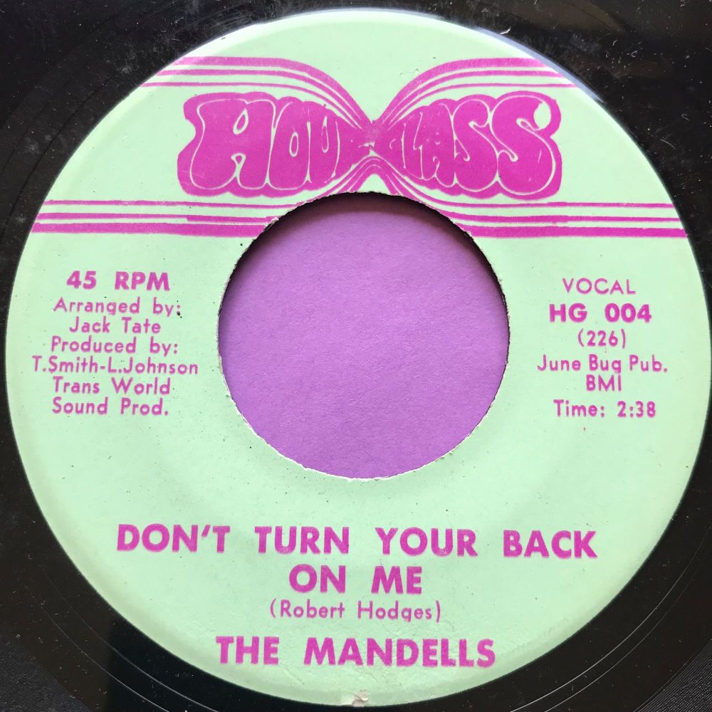 Mandells-Don't turn your back on me-HourGlass E+