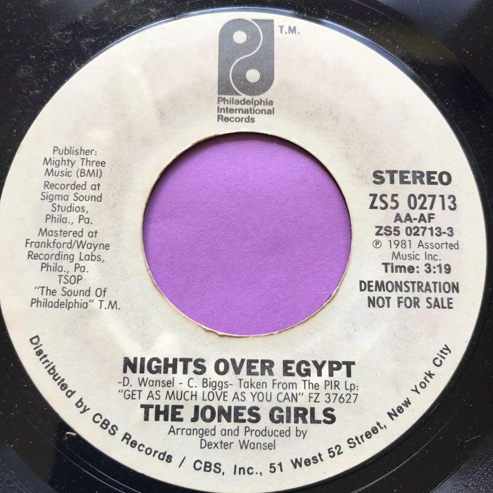 Jones Girls-Nights over Egypt WD E+