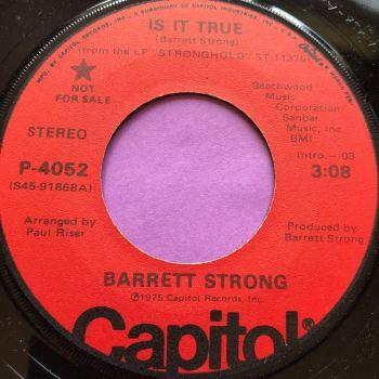 Barrett Strong-Is it true-Capitol Demo E+