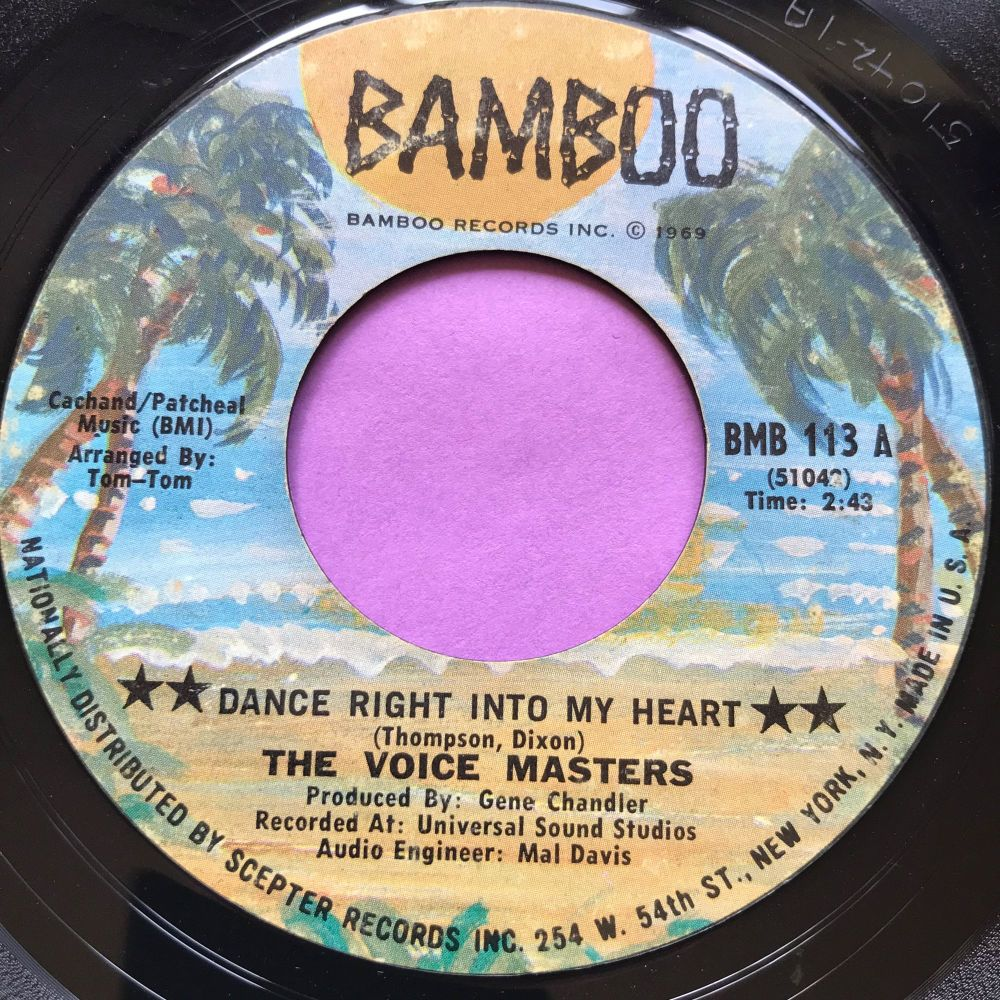 Voicemasters-Dance right into my heart-Bamboo E+