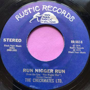 Checkmates LTD-Run N***R Run-Rustic E