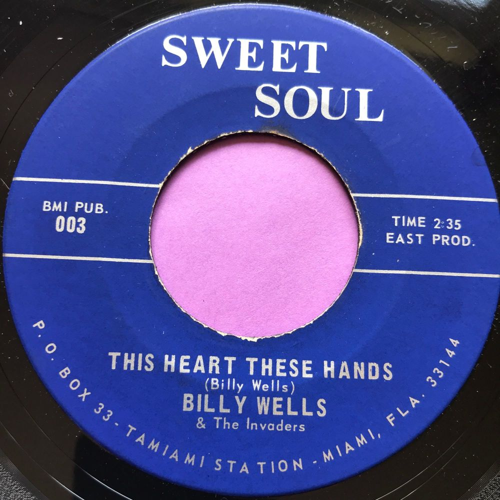 Billy Wells-This heart these hands-Sweet soul M-