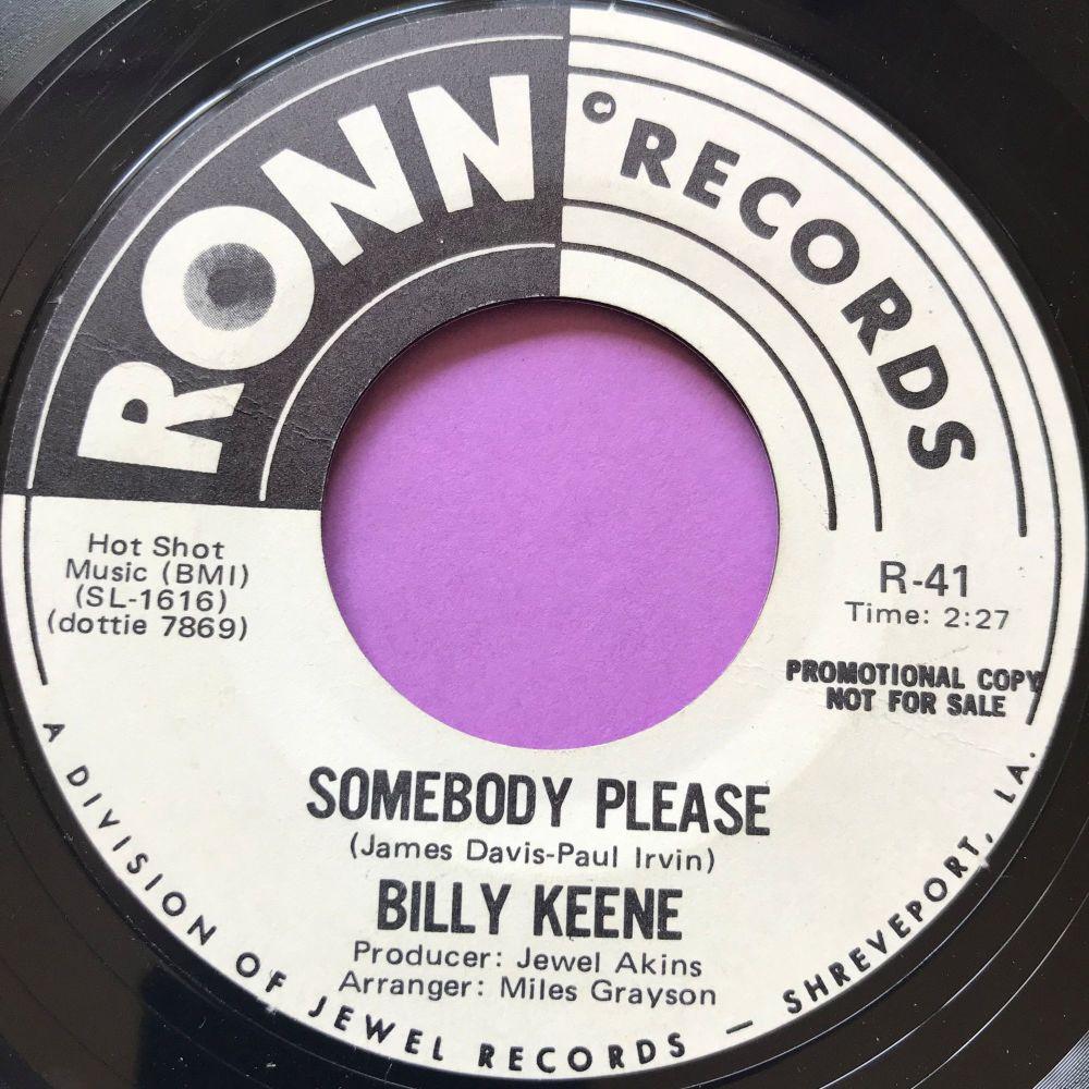 Billy Keene-Somebody please-Ronn WD E+