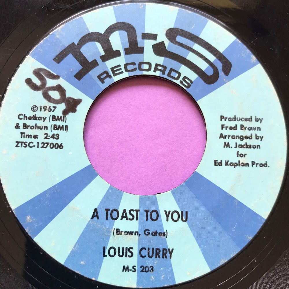 Louis Curry-A toast to you-M&S wol E