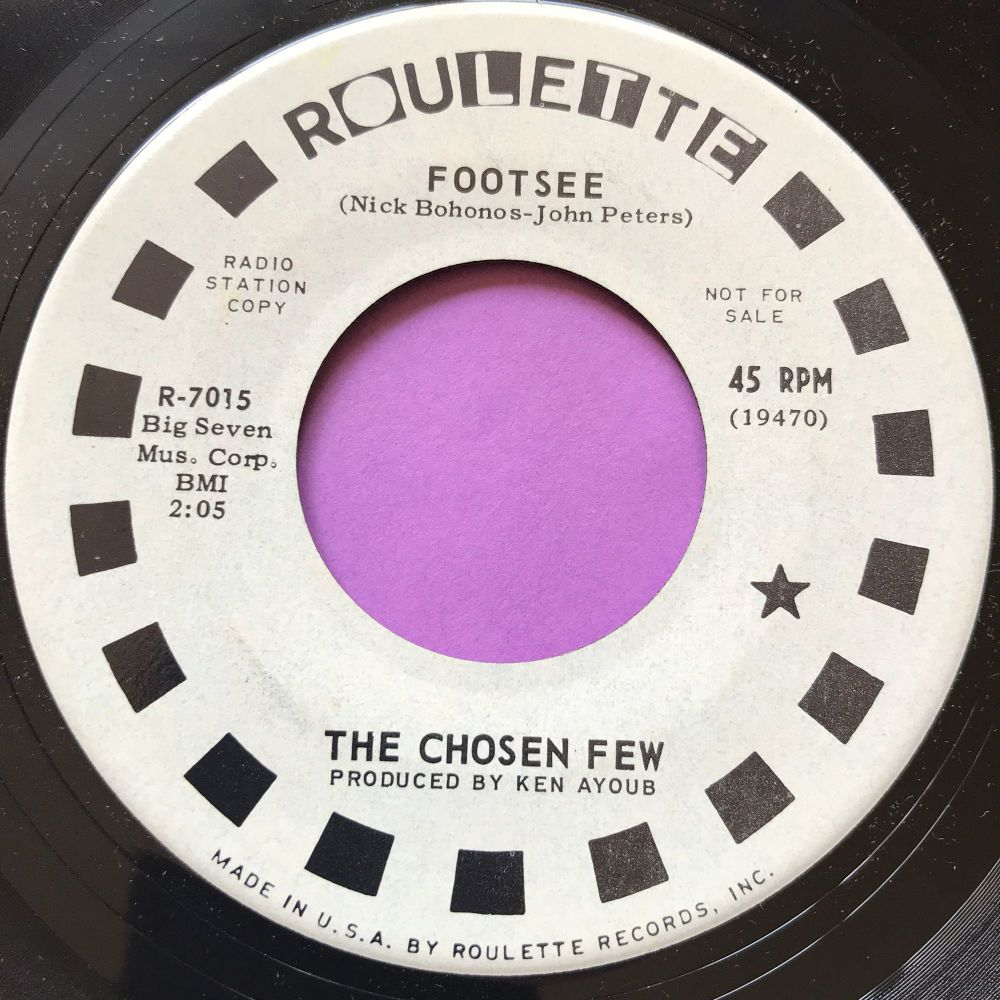 Chosen Few-Footsee-Roulette WD E+