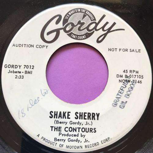 Contours-Shake Sherry-Gordy WD wol E+