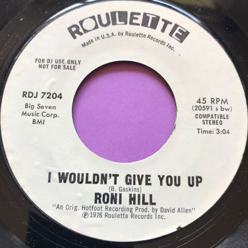 Roni Hill-I wouldn't give you up-Roulette WD M-