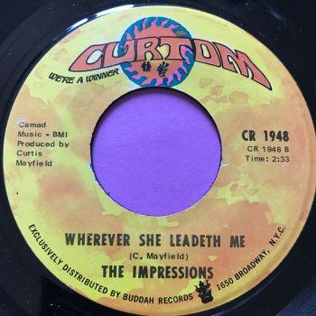 Impressions-Wherever she leadeth me-Curtom M-