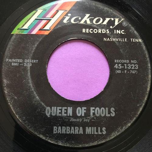 Barbara Mills-Queen of fools-Hickory vg+