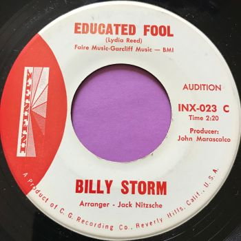 Billy Storm-Educated fool-Infinity M-