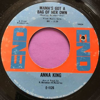 Anna King-Mamma's got a bag of her own-End E+