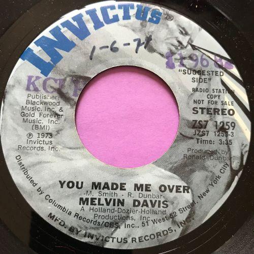 Melvin Davis-You made me over-Invictus wol E+