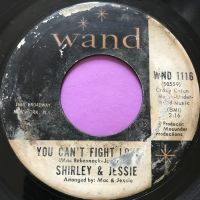 Shirley & Jessie-You can't fight love-Wand E
