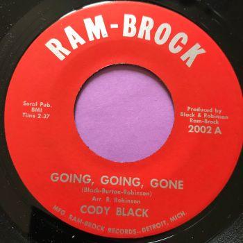 Cody Black-Going going gone-Ram-Brock M-