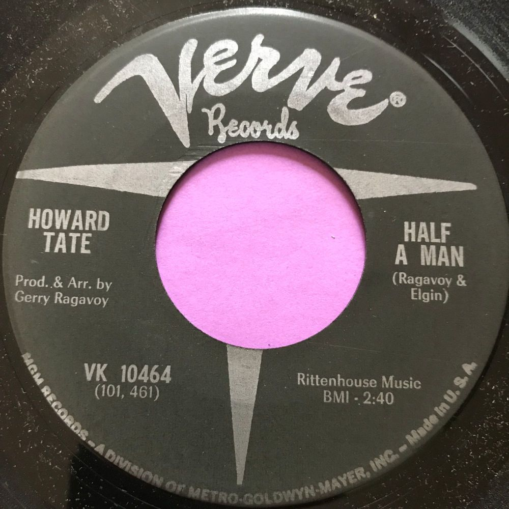 Howard Tate-Half a man-Verve E+