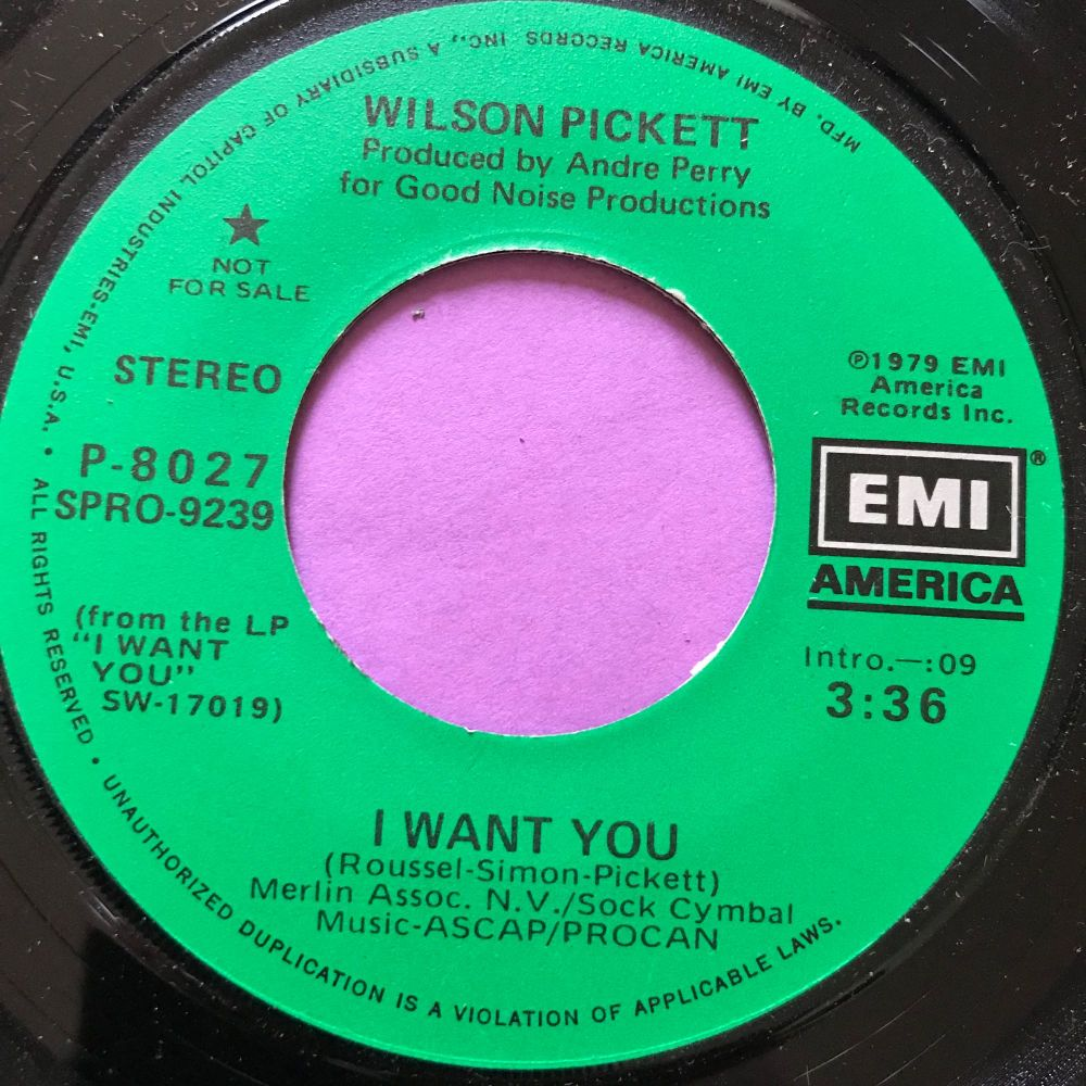 Wilson Pickett-I want you-EMI M-
