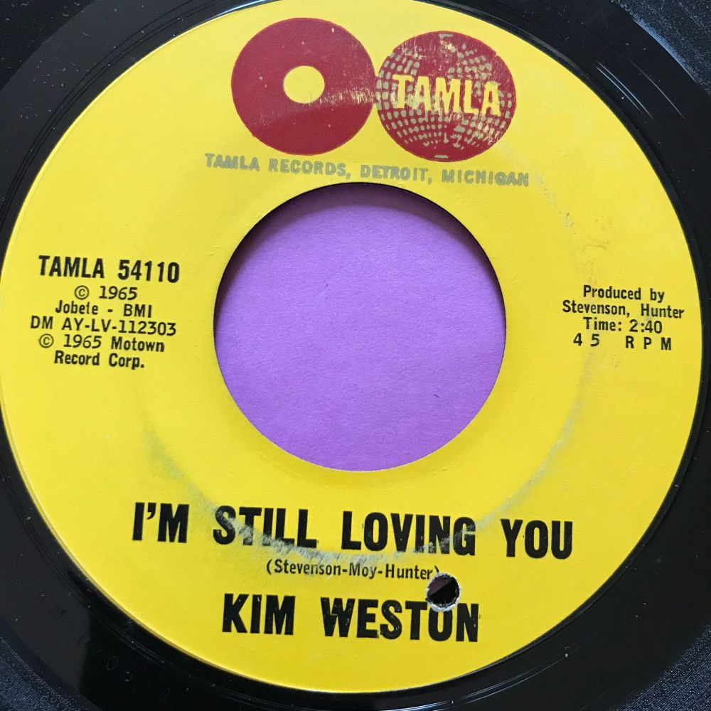 Kim Weston-I'm still loving you-Tamla E+