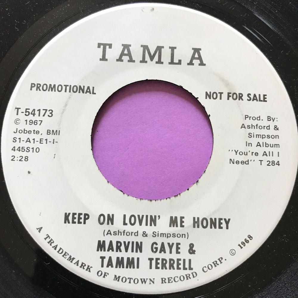 Marvin and Tammi-Keep on lovin' me-Tamla WD M-