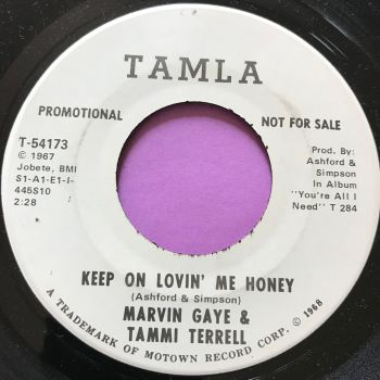 Marvin and Tammi-Keep on lovin' me-Tamla WD M-