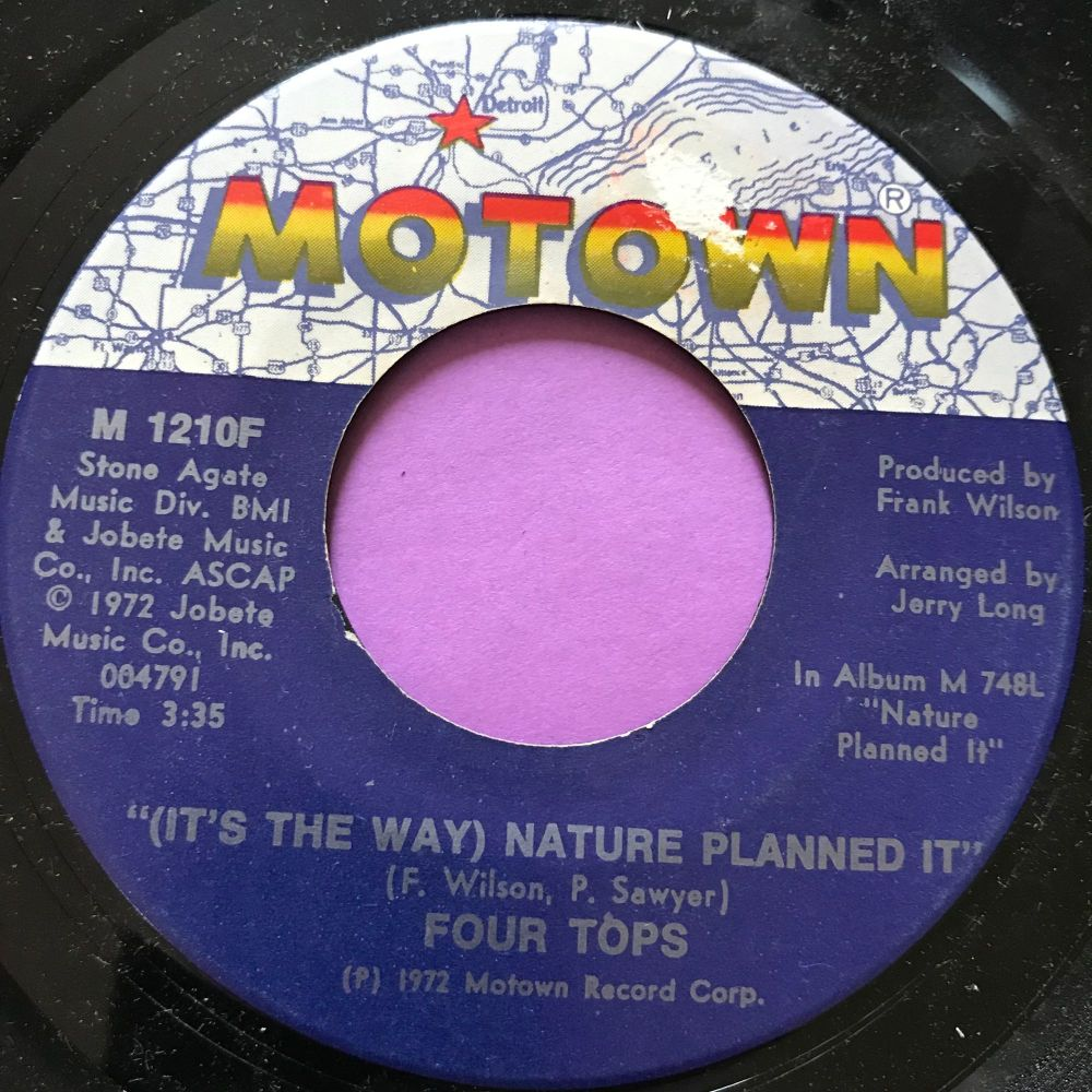 Four Tops-Nature planned it-Motown M-