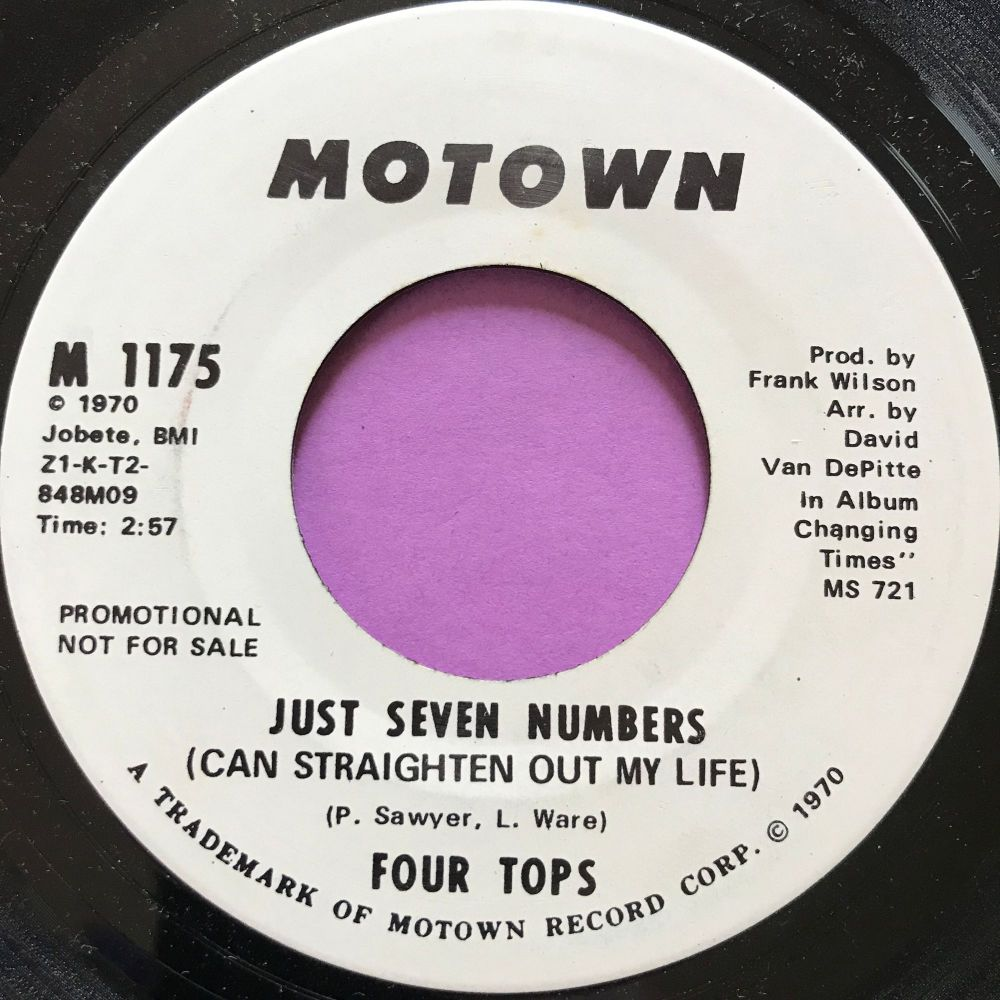 Four Tops-Just seven numbers-Motown WD E+