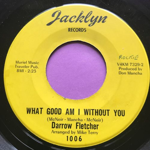 Darrow Fletcher-What good am I without you-Jacklyn E+