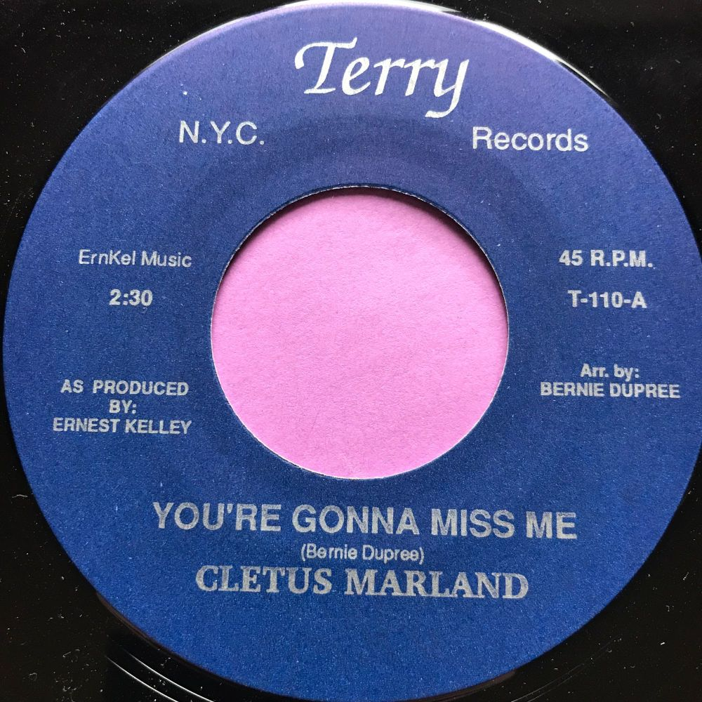 Cletus Marland-You're gonna miss me-Terry E+