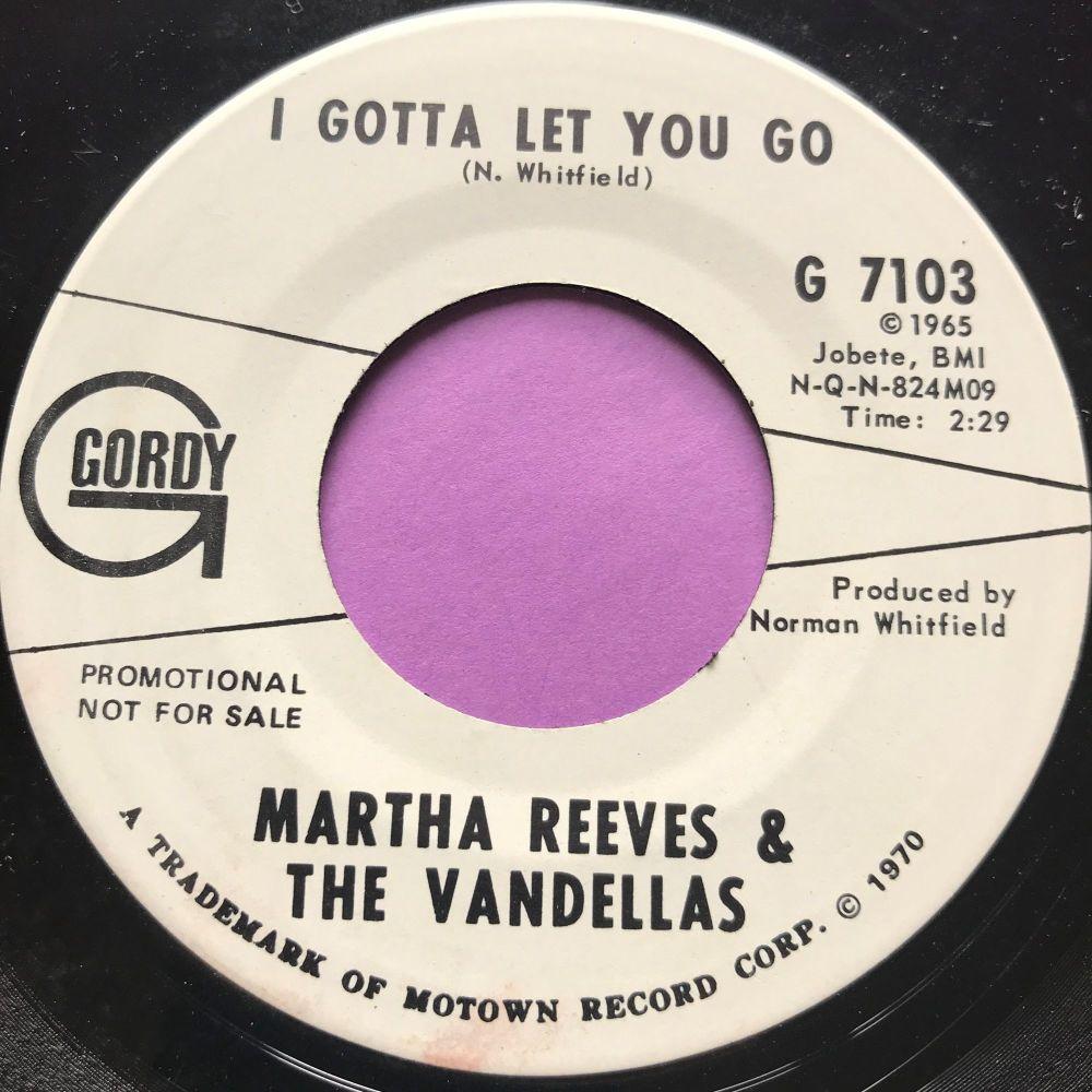 Martha Reeves-I gotta let you go-Gordy WD E+