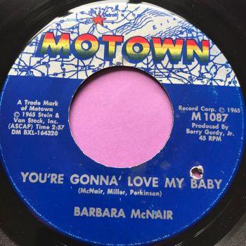 Barbara McNair-You're gonna love my baby-Motown E+