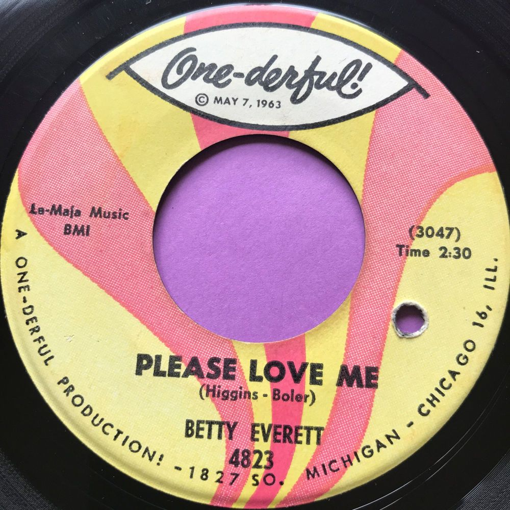 Betty Everett-Please love me-Onederful E+