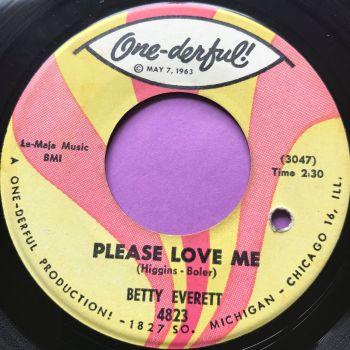 Betty Everett-Please love me-Onederful E+